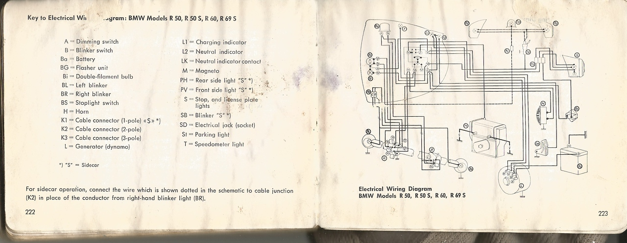 were signal lights stock? vintage bmw motorcycle owners Snap-on Parts Diagrams bmw r60 2 wiring diagram